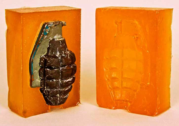 Grenade Pineapple mold