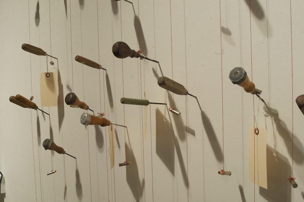 19 Inches, detail. Photo credit: Jacqueline Cooper, director, Autobody Fine Art.