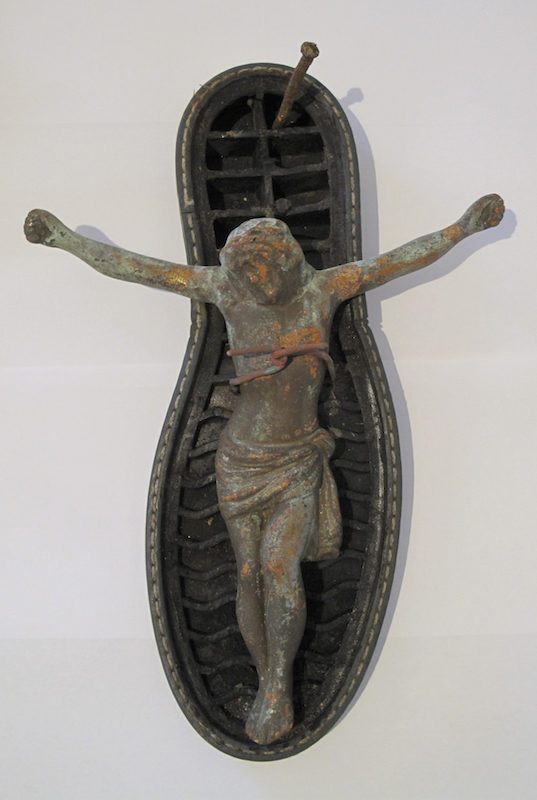 Christ Left Foot, detail