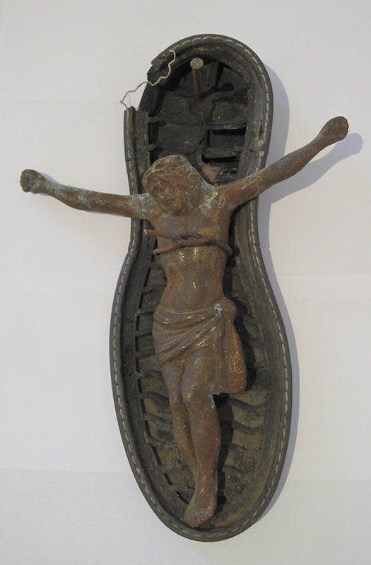 Christ Right Foot, detail